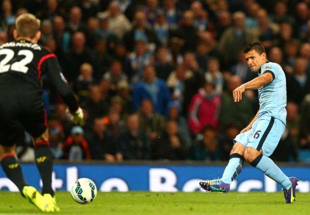 Con un gol de Agüero, Manchester City venció a Liverpool