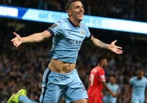 Manchester City forward Stevan Jovetic