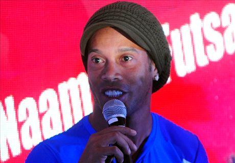 VIDEO: Ronaldinho unveils new single