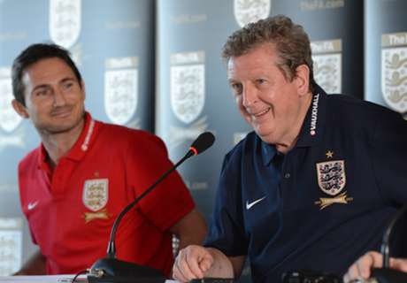 Hodgson pays tribute to Lampard