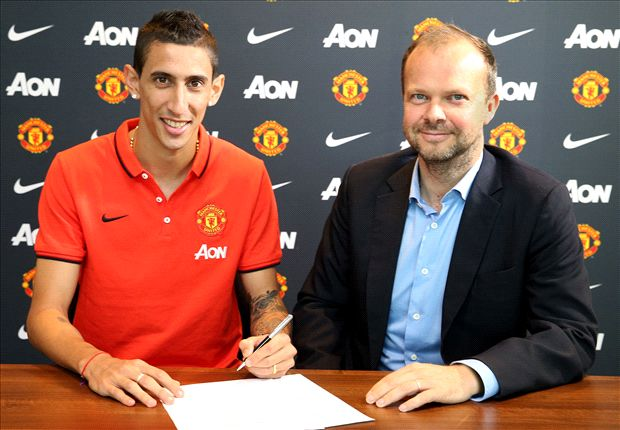 Di Maria will need time to settle at Manchester United, warns Van Gaal