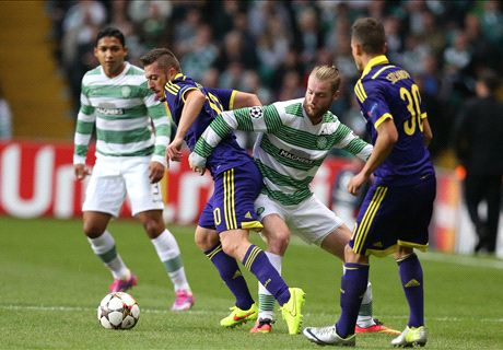 Celtic 0-1 Maribor (1-2 Agg): Hoops out