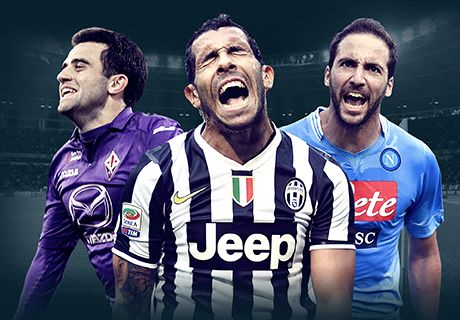 Serie A's top scorer contenders