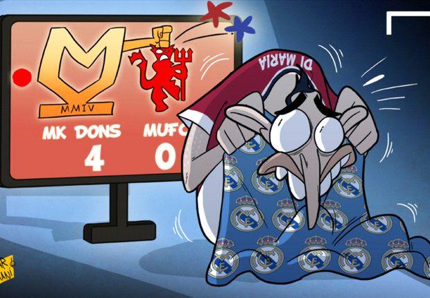 Ángel Di María, aterrorizado el día que llegó al Manchester United