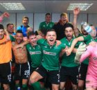 WATCH: Lincoln's epic celebrations