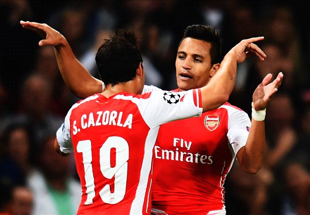 Arsenal 1-0 Besiktas (agg 1-0): Alexis sends 10-man Gunners through