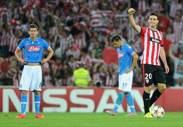 Bilbao schockt Neapel