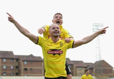 Burton stun Premier League's QPR