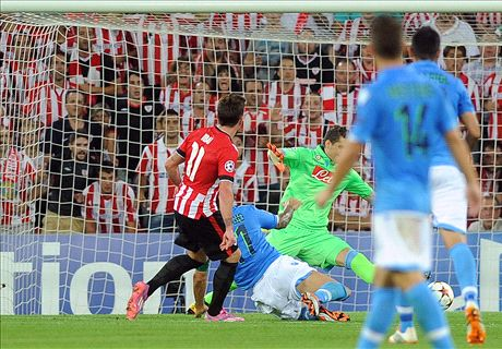 Report: Athletic 3-1 Napoli (4-2 agg.)