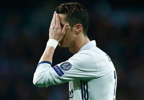 WATCH: Ronaldo's instant joke regret