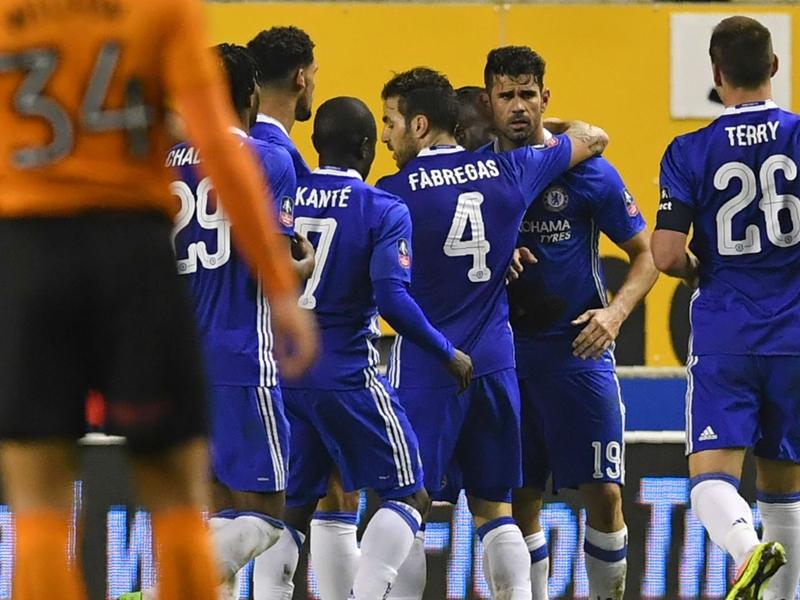 Wolverhampton-Chelsea (0-2), Chelsea au diesel