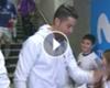 VÍDEO: Cristiano saluda a los niños en el vestuario