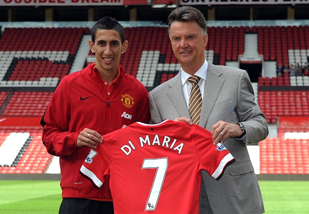 Di Maria: I want to emulate Ronaldo at Man Utd