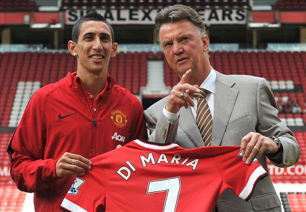 Van Gaal: Di Maria will make debut v Burnley