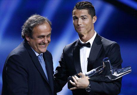 Real Madrid haalt uit naar Platini