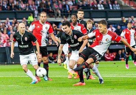 Manu reddende engel voor Feyenoord