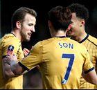Kane hits three against Fulham
