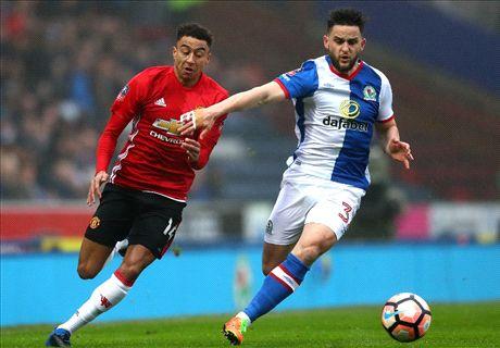 LIVE: Blackburn vs. Man Utd