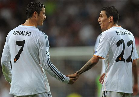 Di Maria: I stayed at Madrid for Ronaldo