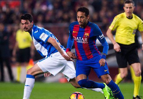 LIVE: Barcelona vs. Leganes