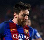 Messi e os artilheiros da Champions 2016/17
