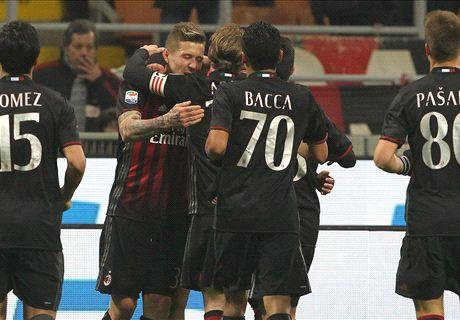 FT: AC Milan 2-1 Fiorentina