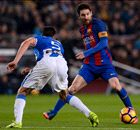 Messi rescues blunt Barca with late penalty