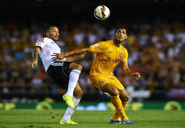 Valencia 3-0 Málaga: Paco Alcácer brilla ante un rival mermado por Estrada Fernández