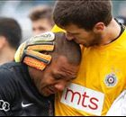 Racial abuse leaves player in tears