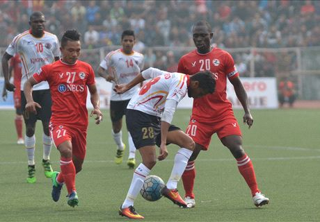 Aizawl snap East Bengal's unbeaten start