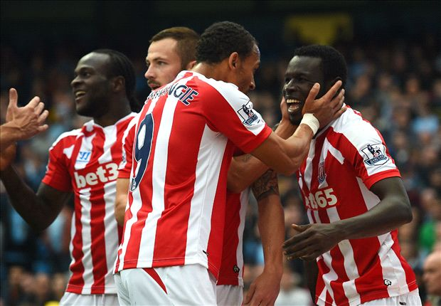 Manchester City 0-1 Stoke City: Diouf wonderstrike shocks holders