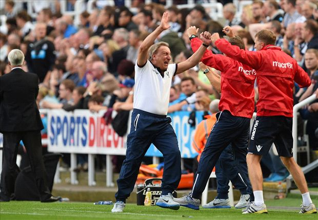 Newcastle 3-3 Crystal Palace: Zaha rescues late point on Warnock debut
