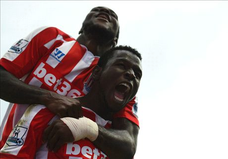 Diouf the hero as Stoke shock City