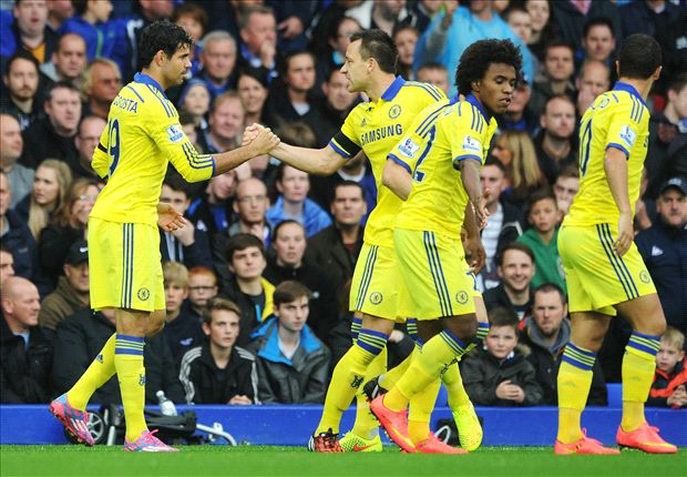 Everton 3-6 Chelsea: Costa scores twice in thriller