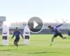 VÍDEO: Sergio Ramos afina la puntería