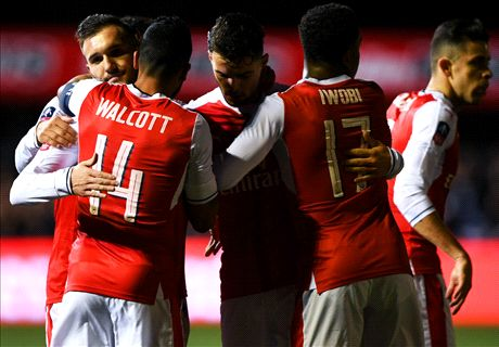 FT: Sutton United 0-2 Arsenal