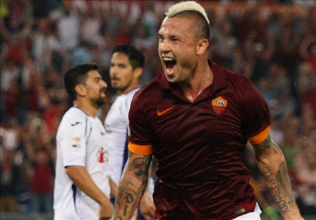 Roma too strong for Fiorentina
