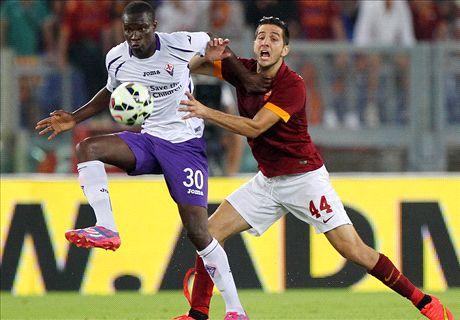 Player Ratings: Roma 2-0 Fiorentina