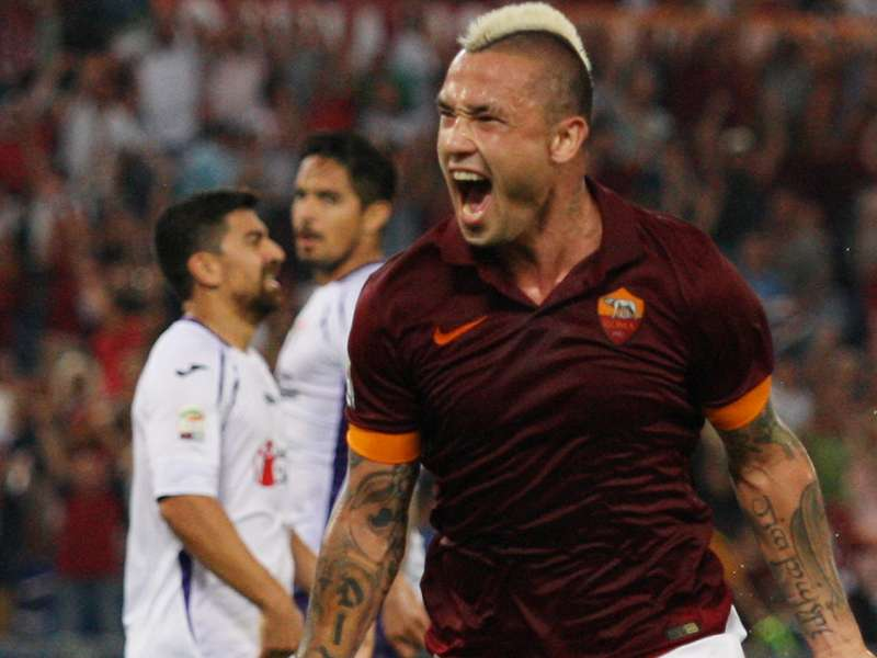 Ultime Notizie: Roma-Fiorentina 2-0: Nainggolan-Gervinho, De Sanctis decisivo
