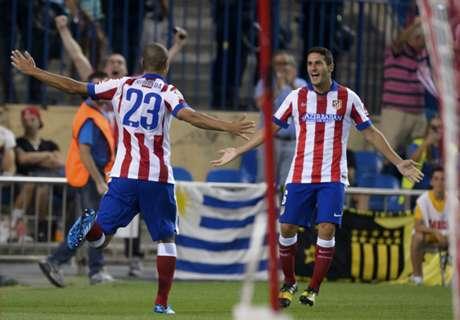 Atlético overtuigt niet, maar wint wel