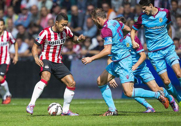 Matig PSV wint van sterker Vitesse