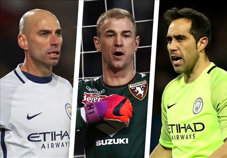 Man City weigh up goalkeeping options