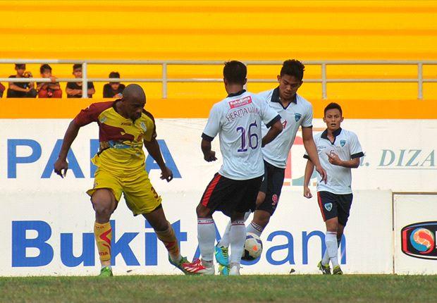 Sriwijaya FC kalah di kandang sendiri