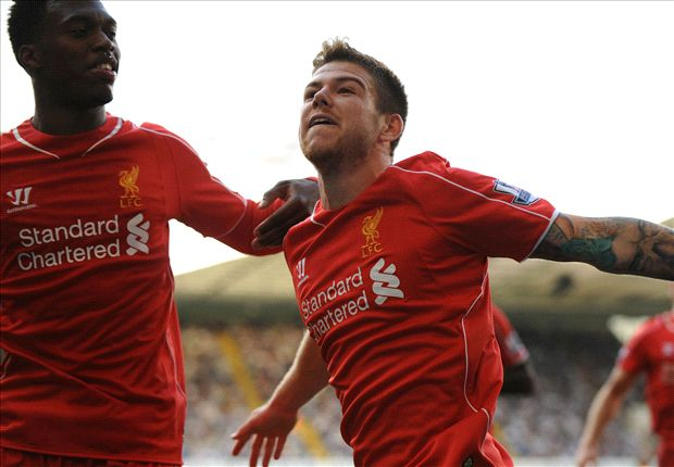 Tottenham 0 - 3 Liverpool: Alberto Moreno se estrena como goleador en la victoria 'Red'
