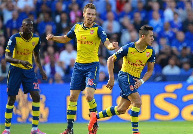 Leicester City 1-1 Arsenal: Los 'Gunners' acusan su falta de pegada