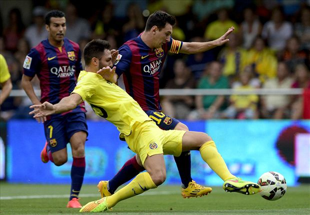 Messi suffers hip injury in win over Villarreal