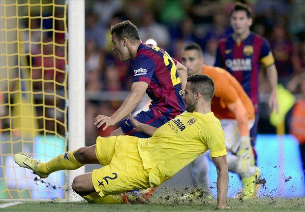 Sandro fue clave en la victoria del Barcelona ante el Villarreal