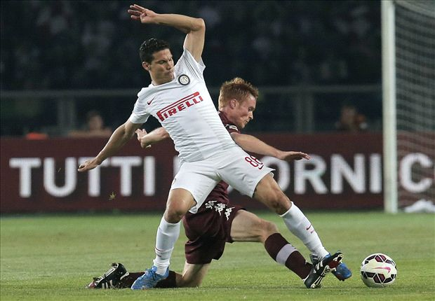 Torino 0-0 Inter: Vidic sees red as Mazzarri's men are held
