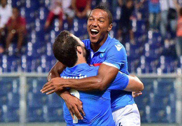 Genoa 1-2 Napoli: Dramatic De Guzman strike seals victory