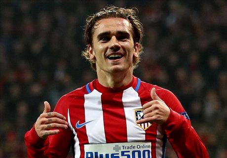 Griezmann comes out on top vs Chicharito
